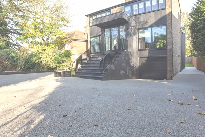 Resin Bound Stone Driveway installed in Colchester