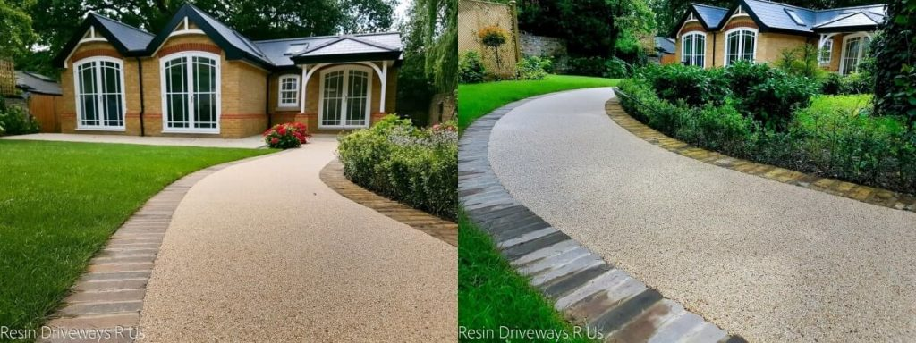 Resin driveway - before and after (11)